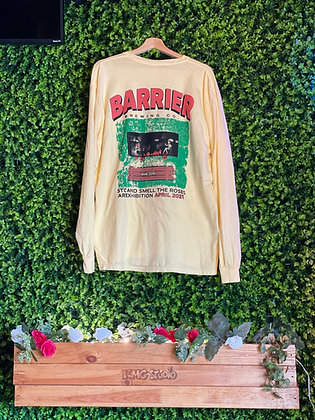 Exhibition Long Sleeve Pocket T