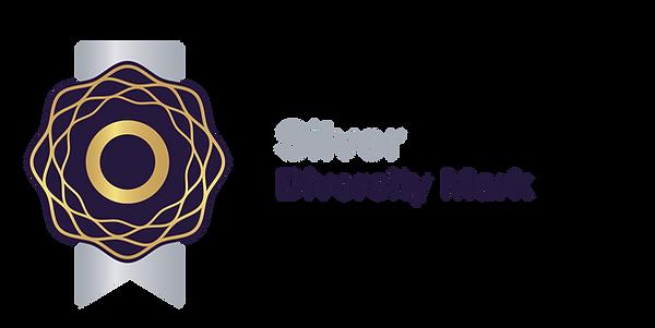 Silver Diversity Mark Logo Landscape.png