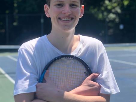 Hit Balls with Tennis Assistant Ben Atkinson