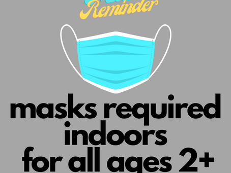 Indoor Mask Order begins Wed. 8/18