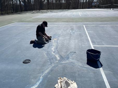 Tennis Court Update