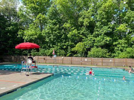 Pool Hours: May 29 - June 6