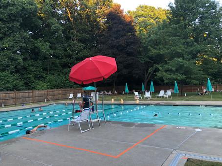 Pool & Tennis In September