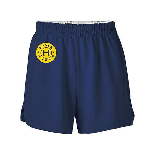 Girls Cut Navy shorts