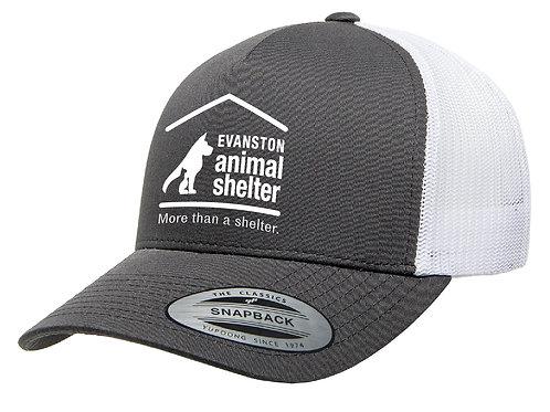 EAS Charcoal & White Snapback Cap
