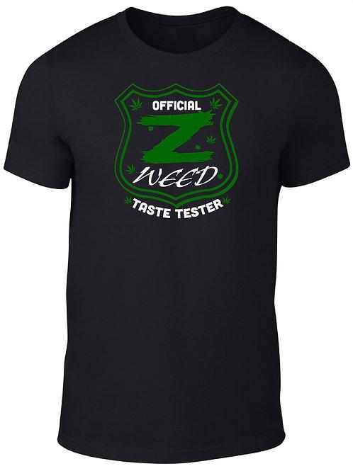 Official Z Weed Taste Tester Tee