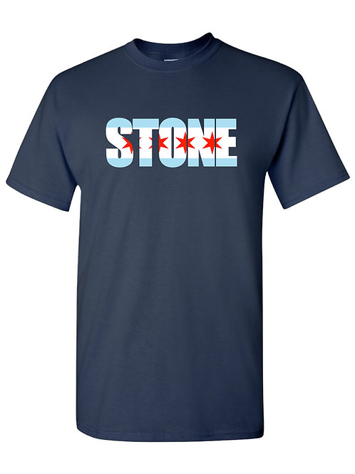 Stone - Chicago Flag Tee