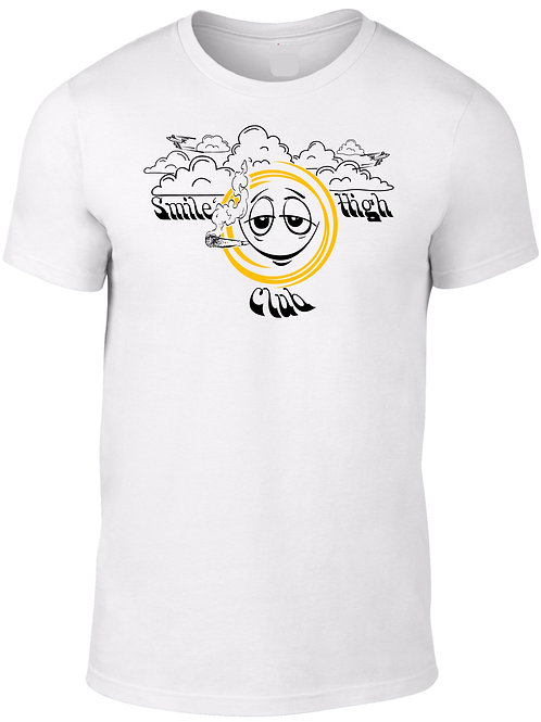 Smile High Club White Tee