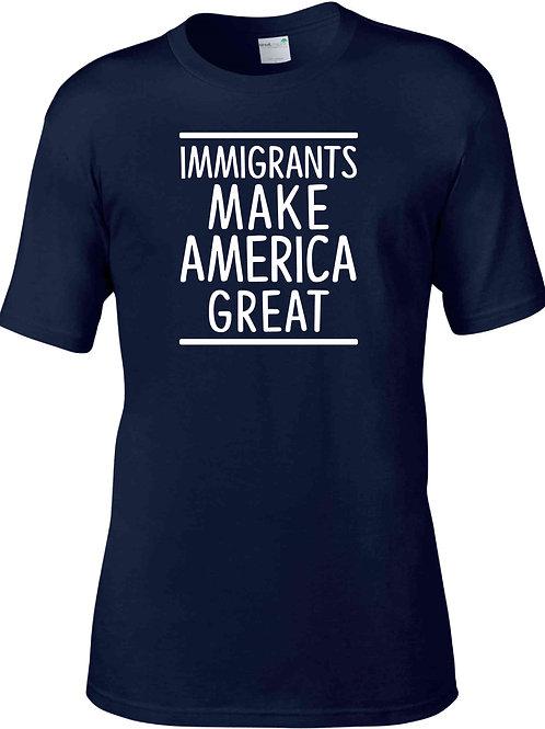 Immigrants Make America Great - Navy