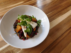 Lentil Salad with Beets and Pomegranate