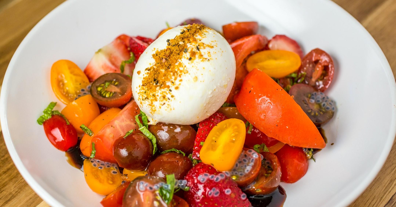 Burrata Heriloom Tomato Salad