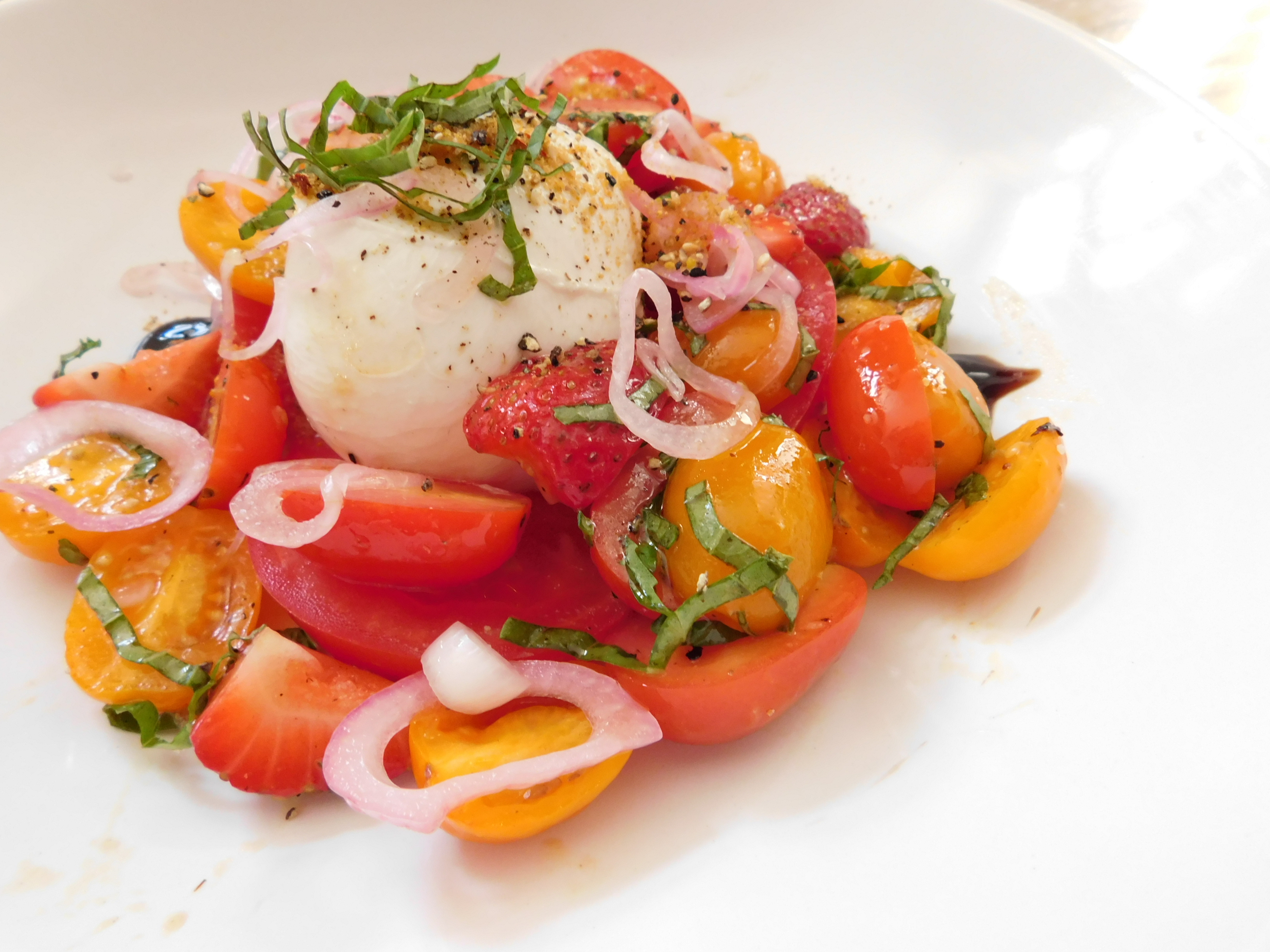 Burratta & Heirloom Tomato