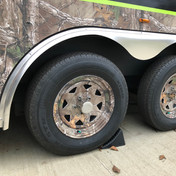 Custom Trailer Camo Wheels