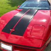 Corvette Carbon Racing Stripes