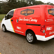Abo's Grill Catering Partial Wrap