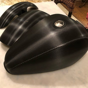 Carbon Motorcycle Wrap