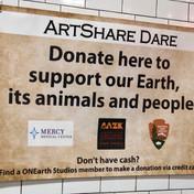 ArtShare Dare Donation Station
