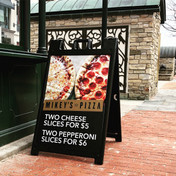 Promotional Sidewalk Sign