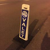 Promotional Traffic Barricade