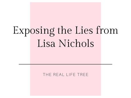 Exposing the Lies - Lisa Nichols