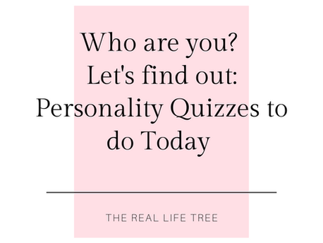 Personality Quizzes to get to Know Yourself