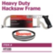 heavy duty hacksaw frame