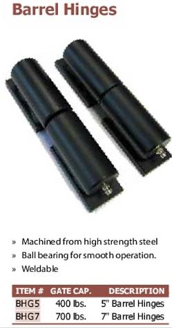 barrel hinges