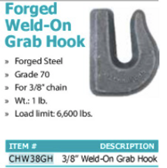 forged wld-on grab hook