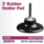 "3"" rubber holder pad"