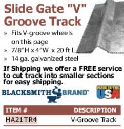 """""""V"""" Groove"""