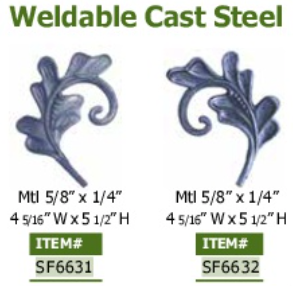 weldable cast steel