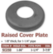 raised cover plate