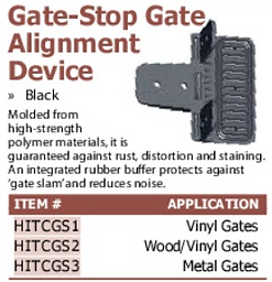 gate-stop gae alignment device
