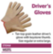 driver's gloves