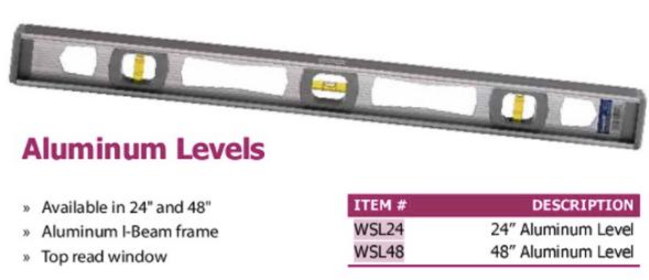 aluminum levels