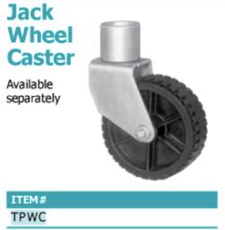 jack wheel caster