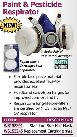 paint & pesticiae respirator