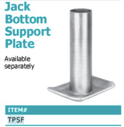 jack bottom support plate