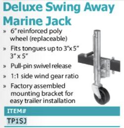deluxe swing away marine jack