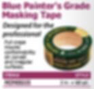 blue painter's grade masking tape