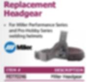 replacement headgear