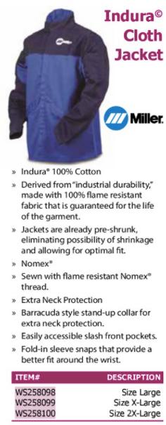 indura cloth jacket
