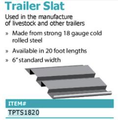 trailer slat