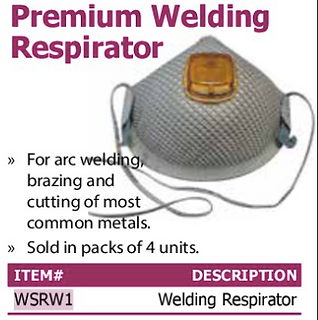 premium welding respirator