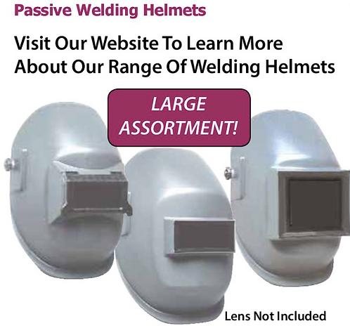 passive welding helmets