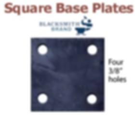 square base plates