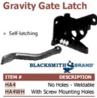 gravity gate latch
