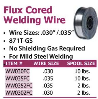 flux cored welding wire