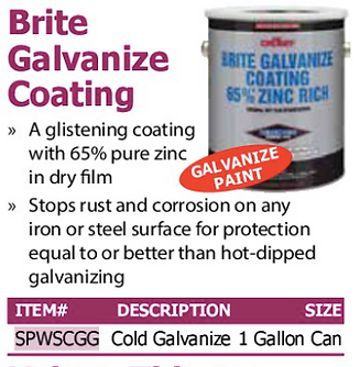 brite galvanize coating