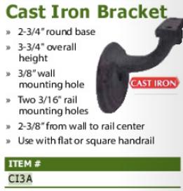 cast iron bracket